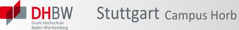 DHBW Stuttgart Campus Horb Logo